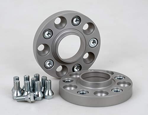 Spurverbreiterung Aluminium 2 Stück (20 mm pro Scheibe / 40 mm pro Achse) inkl. TÜV-Teilegutachten & ABE