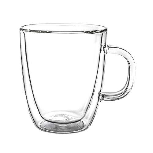 ボダム ビストロ ダブルウォールグラス 300mL 6個セット 保温 エスプレッソ マグ 10604-10-6US BISTRO DWG 二重構造 プレゼント コーヒー [並行輸入品