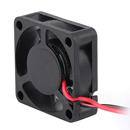 Dilwe RC Ventilador de Refrigeraci¨n del Motor Negro Piezas de Coche(# 2. 30 * 30 mm / 1.2 * 1.2in)