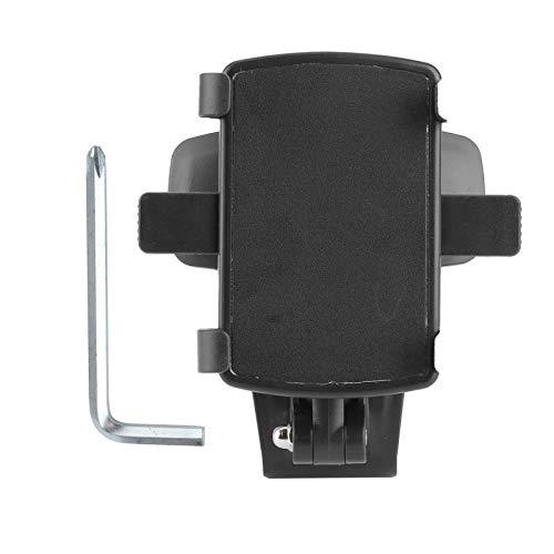 Allsor Soporte para teléfono móvil, Soporte Ajustable con rotación de 360 ° Soporte para teléfono móvil, Soporte para teléfono en el Tablero de Instrumentos Fácil de Usar, operación con una Sola