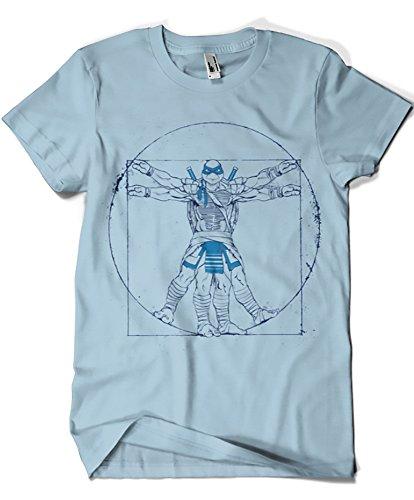 567-Camiseta Vitruvian Leonardo (Inaco)
