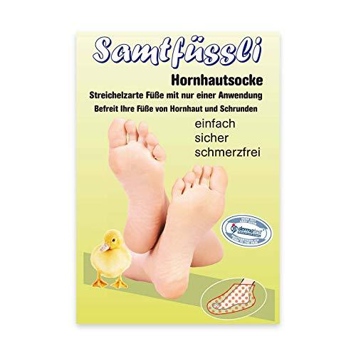 Samtfüssli Hornhautsocke - Anti Hornhaut