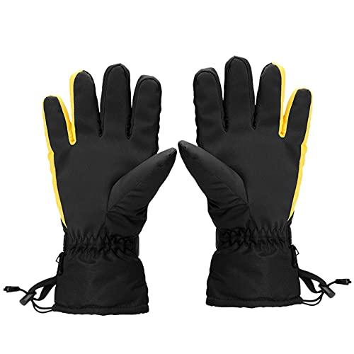 Ranana beheizbare Handschuhe, beheizbar, Winter, wasserdicht, mit Touchscreen, geeignet für Motorrad, Skifahren