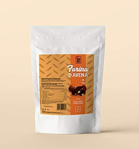 DILO Farina di Avena Aromatizzata Cioccolato e Nocciola 1kg