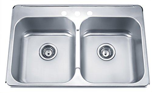 32 Inch Overmount Stainless Steel Kitchen Sink