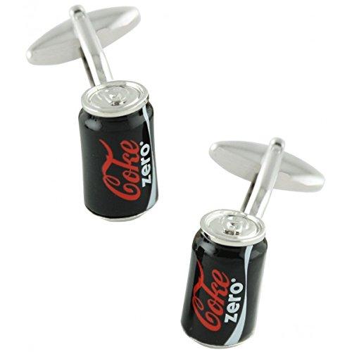 MasGemelos - Boutons de manchette Cola Zero