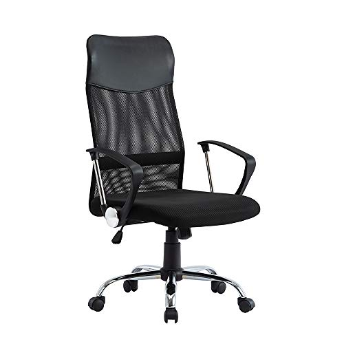 SHA XiaZhi Office Chair High Back Mesh Chair Height Adjustable Armchair with Swivel and Lumbar...