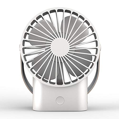 Preisvergleich Produktbild Küche Haushalt Wohnen Tischventilatoren Kleiner Ventilator USB Mini stiller kleiner elektrischer Ventilator,  Büro-Studenten-tragbarer tragbarer wieder aufladbarer Ventilator Kühlen Ventilatoren