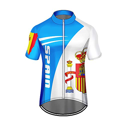 WAWNI - Maillot ciclismo impresión 3D bandera nacional
