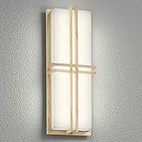 ODELIC(オーデリック) エクステリアライト LEDポーチライト【人感センサ付】 樹脂(白木調):OG254256