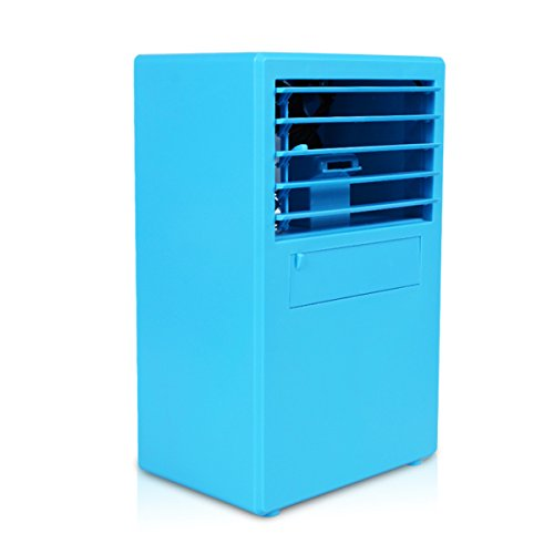 Cheap HoomDirect Mini Air Humidifier Cooler, Noiseless Small Desktop Misting Fan