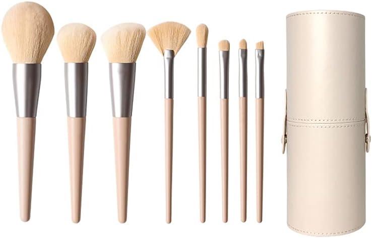 Special sale item CJSWT Translated Makeup Brush Set 8 Synthetic Pcs Powder Foundation Premium