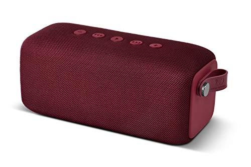 Fresh  n Rebel Speaker ROCKBOX BOLD M Ruby Red  Altoparlante Bluetooth Waterproof Ipx7, 12 Ore Autonomia, Resistente all Acqua - Vivavoce, Rosso Rubino