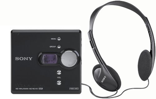 Sony MZ-NE410 High Speed Net MD Walkman Recorder (Renewed)