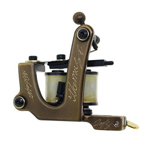 Thomas Liner Handmade Tattoo Machine Gun 8 Wrap Coils for Tattoo Supplies