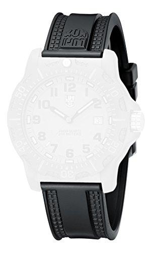 Luminox PU-Armband für Luminox Uhr 8802 schwarz, PU, 23mm Anschlag