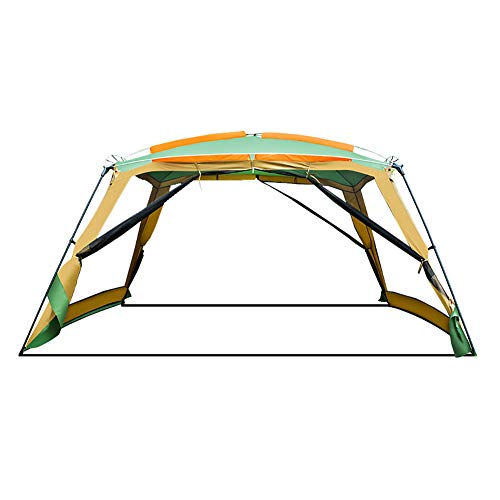 SSDAOO Gran Espacio Pérgola Cuatro Lados Tienda Transpirable BBQ Tienda Portátil Playa Tarjeta Picicina Plegable Tienda De Picnic