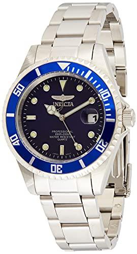 Invicta Pro Diver Orologio Quarzo, 37.5mm, Blu, 9204OB