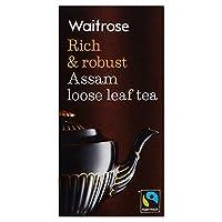 Waitrose Rich & Robust Assam Loose Leaf Tea (ウェイトローズ 濃厚アッサム茶葉) 125g x 2 Packs 【並行輸入品】【海外直送品】