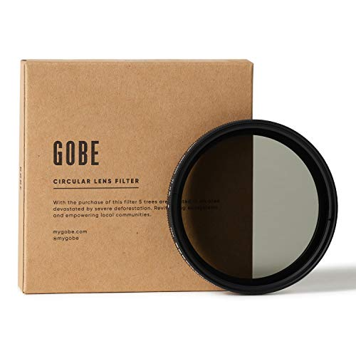 Gobe NDX 77 mm Variabler Graufilter ND2-400 ND Filter (1Peak)