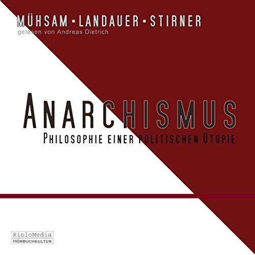 Anarchismus audiobook cover art