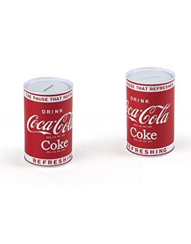Hucha metálica - Modelo Coca-Cola (8x13 cm)