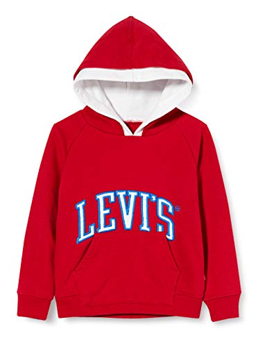 Levi's Kids Lvb Varsity Pullover Sweater Garçon Rouge 14 ans