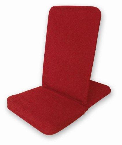 Backjack Chaise de Sol Pliable Rouge