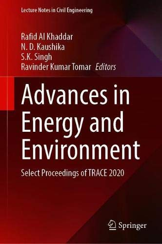 Advances in Energy and Environment: Select Proceedings of TRACE 2020 (Lecture Notes in Civil Engineering, 142)