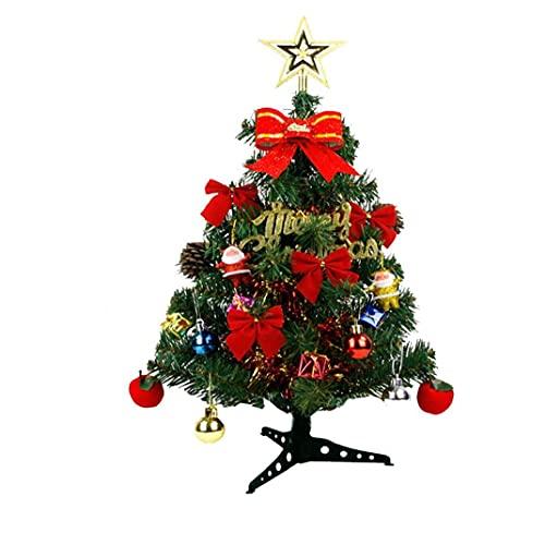 Tablero de Navidad Árbol Mini LED Luz Colorida Luz de Navidad Decoración...