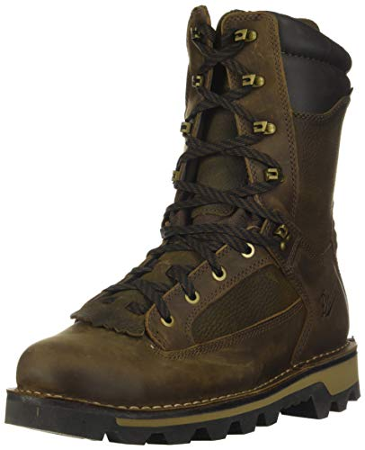 Danner mens Powderhorn Hunting Shoes, Brown - Full Grain, 10 US