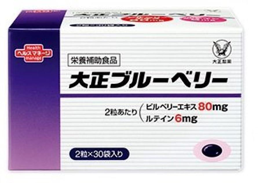 スキャンスリップシューズカヌー大正ブルーベリー 1箱 2粒×30袋