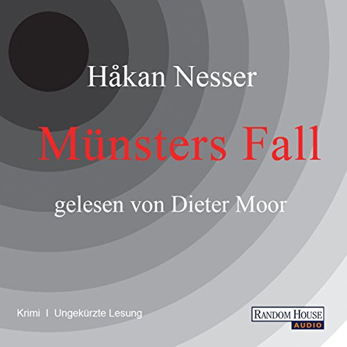 Münsters Fall (Kommissar Van Veeteren 6) cover art