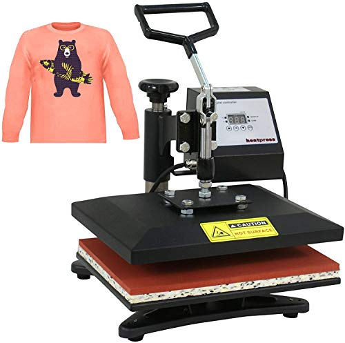 Super Deal Newest 12' X 10' Heat Press Machine Clamshell Sublimation Transfer Machine