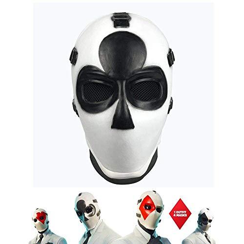 Vercico Poker Máscara de Carnaval de Navidad d'Año Nuevo