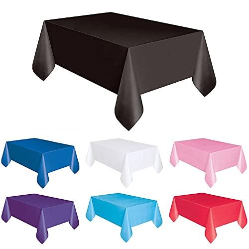 AGAN Desechable Mantel de cumpleaños de la Princesa cumpleaños Feliz niños plástico Wi Clean Desk decoración del paño de Tabla Cubierta Suministros