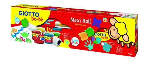 Giotto Be-Bè Finger Paint - Set Gouache Aux Doigts Maxi Roll