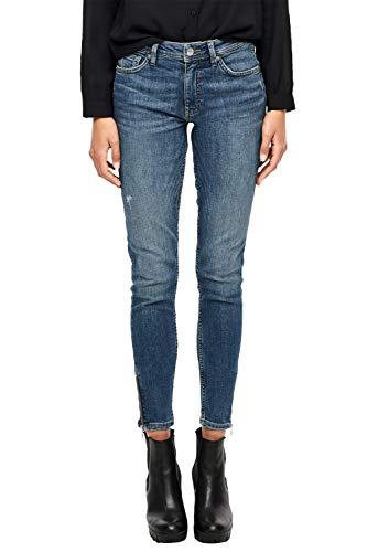 Q/S designed by - s.Oliver Damen 45.899.71.0496 Skinny Jeans, Blau (Blue Denim Heavy S 57z6), 38W