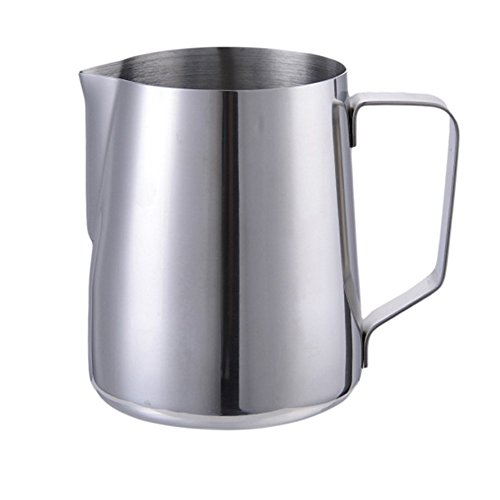 Professional 30 oz (900ML) Milk Frothing Pitcher Coffee Creamer Frothing Cup Jup for Espresso Machines Latte Art Baristas Stainless Steel