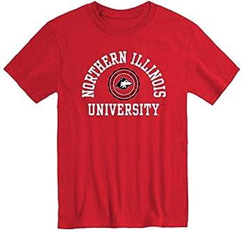 Ivysport Northern Illinois University Huskies Short-Sleeve T-Shirt Heritage Red XX-Large