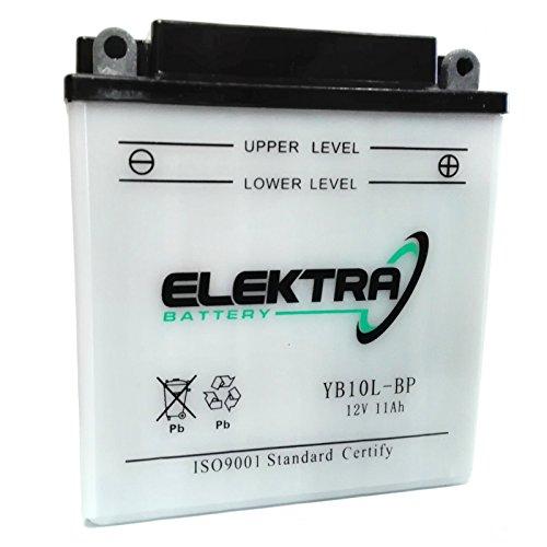 Batteria standard Elektra YB10L-BP 12 V 11 Ah 160 CCA