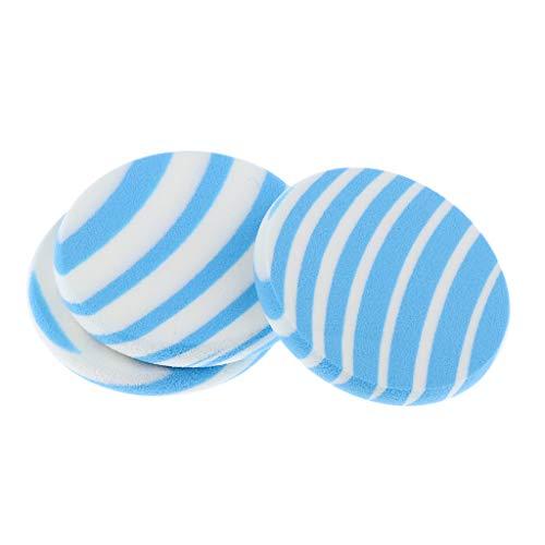 Toygogo Paquets De 3 Pièces Air Cushion Puffs BB Crème Maquillage Éponges à Mélanger Correcteur De Visage Soins Du Visage Soins De La Peau Applicateurs à Poud - #1