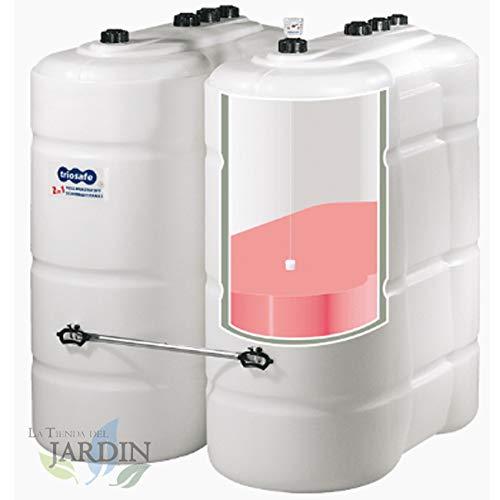 GASOLINE GASOIL 750 Liter Zugelassen Länge 120 cm, Breite 66 cm, Höhe 149 cm mit doppeltem Becken