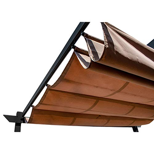 ALEKO Pergola Canopy Fabric Replacement - 13 x 10 Feet (Sand)