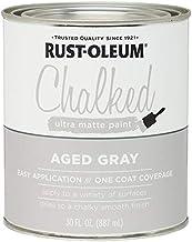 Rustoleum 285143 30 Oz Aged Gray Chalked Ultra Matte Paint
