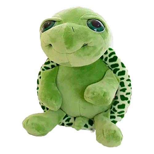 persiverney-homeland Turtle Plush Toy Aurora Plush Animal Turtle Soft Plush Hand Puppet Cute Stuffed Animal for Travel Cuddling Plush Applied