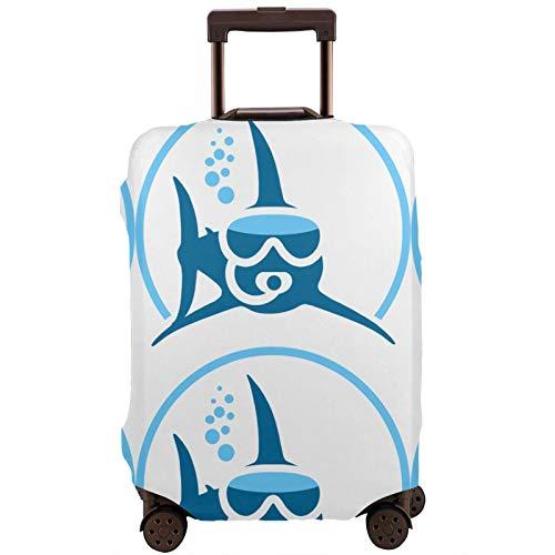 Buceo tiburón elástico maleta cubierta a prueba de polvo maleta maleta maleta protectora