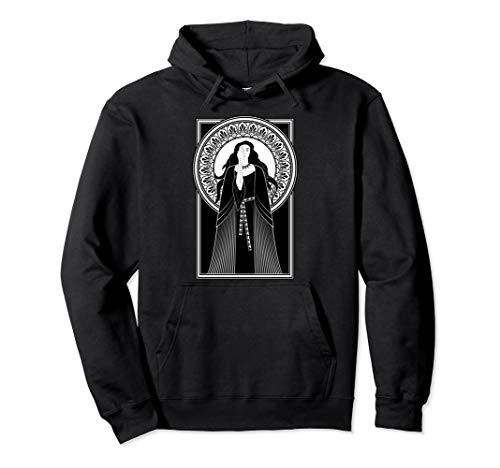 Jugendstil-Tarot-Priesterin Gotische Hexe Pullover Hoodie