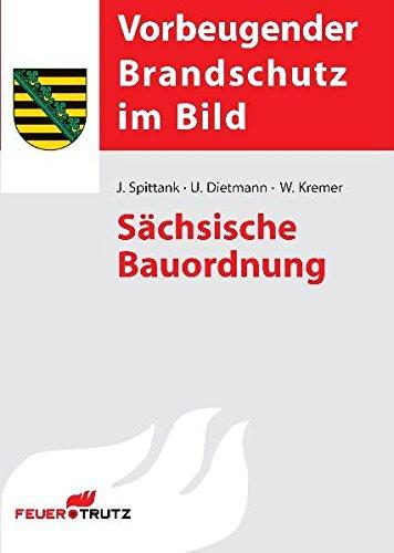 Sächsische Bauordnung (Vorbeugender Brandschutz im Bild)