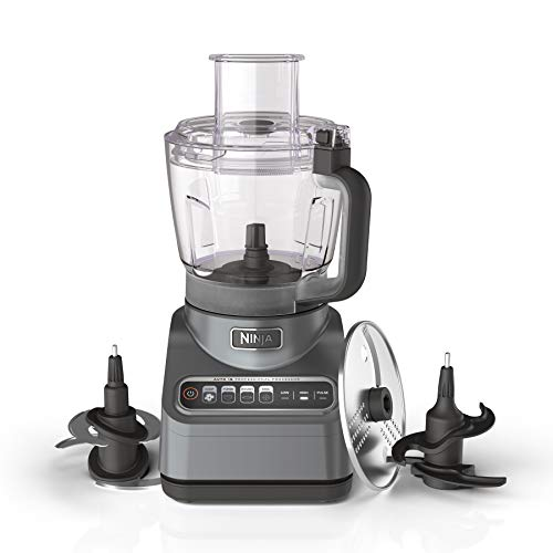 Ninja BN601 Professional Plus Food Processor 1000-Peak-Watts with Auto-iQ Preset Programs Chop Puree...